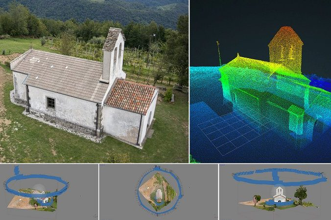 3d image of a church