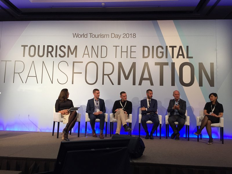 Slovenia and Tourism 4.0 on the stage at the UNWTO event on the World Tourism Day