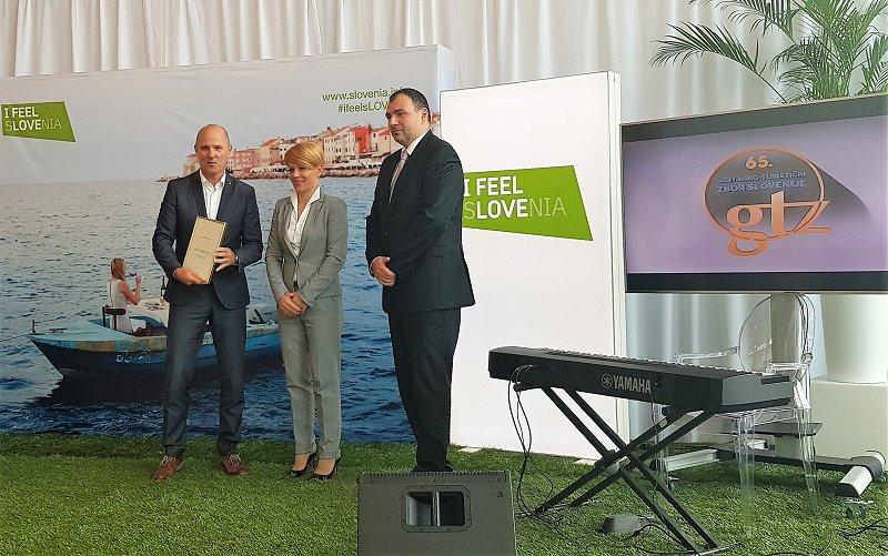 Hospitality chamber of Slovenia award