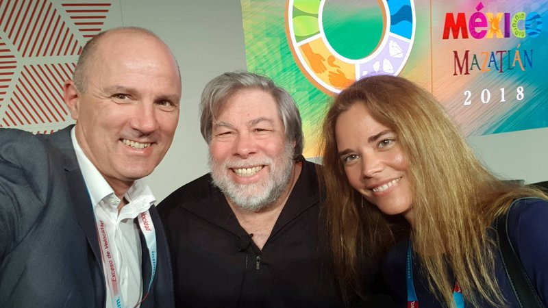 Photo with Steve Wozniak